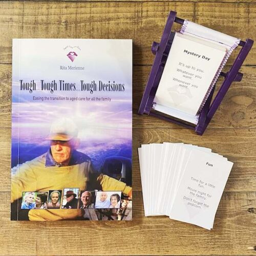 ACE Aged Care with Ease Book and Care Cards Bundle by Rita Merienne